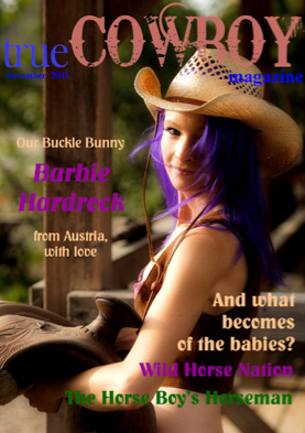 True Cowboy Magazine featuring Barbie Hardrock