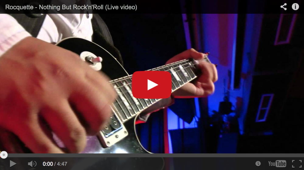 "New video of ""Nothing But Rock´n´Roll"""
