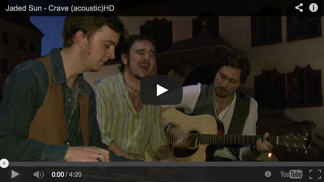 """Friday Feature #1: JADED SUN – """"Crave"""" (acoustic)"""