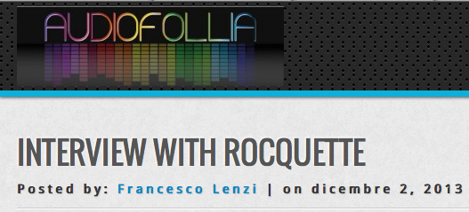 Interview with Audiofollia