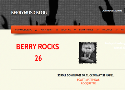 New feature on Berry Rocks Blog