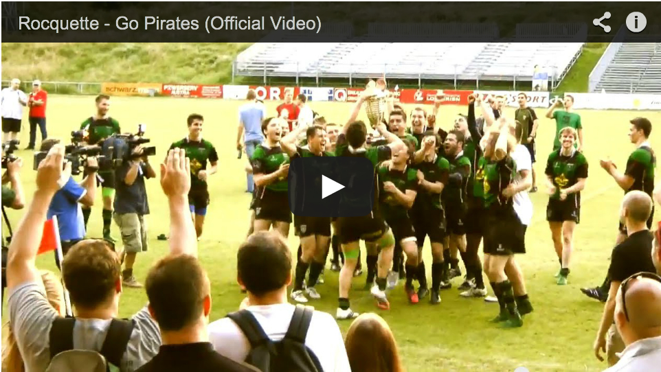 "New video ""Go Pirates"""