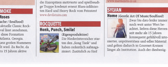 Review Planet Music 03/2015 Honk, Punch, Smile!